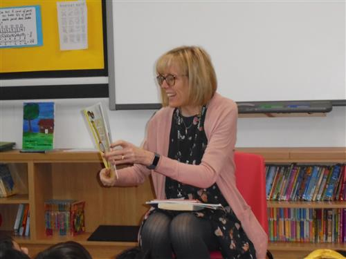 Green Eggs and Ham was read by Mrs Norbury
