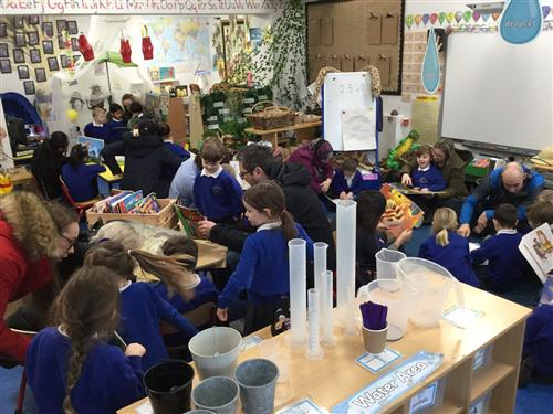 Parents and Carers of pupils in Surays shared their love of reading in Book Week