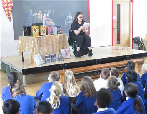 The Cursed Child generated lots of interest read by Miss Drabble
